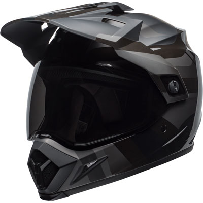 Bell MX-9 Adventure Blackout MIPS Helmet XX-Large Black/Grey