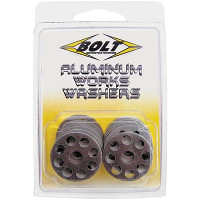 Bolt Aluminum Works Washers 18mm 10 pack