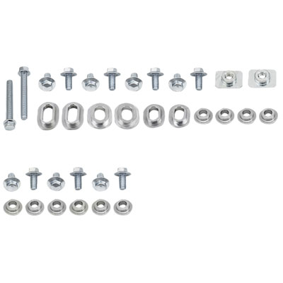 Bolt Plastics Fastener Kit - Radiator Shrouds/Airbox Only
