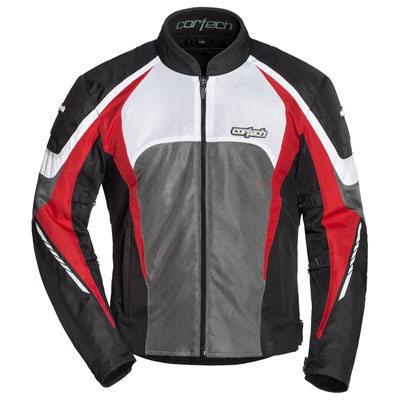 Cortech GX Sport Air 5.0 Jacket Large Black/Red