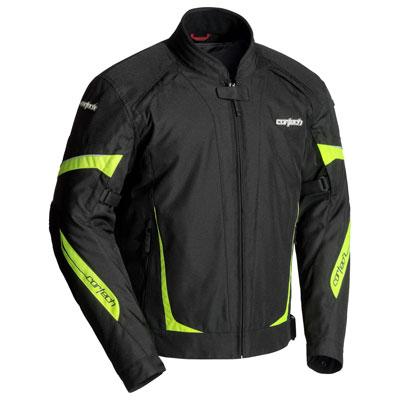 Cortech VRX 2.0 Jacket Small Black/Hi-Viz