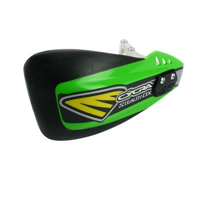Cycra Stealth DX Handguard Racer Pack Kawasaki Green