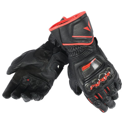 Dainese Druid D1 Long Gloves X-Large Black/Black/Red