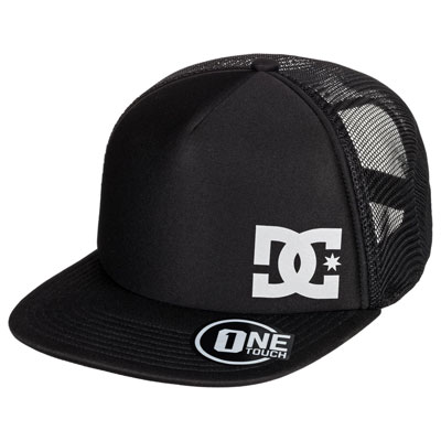 DC Greeters Snapback Trucker Hat  Black