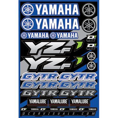D'Cor Visuals Yamaha YZF Decal Sheet