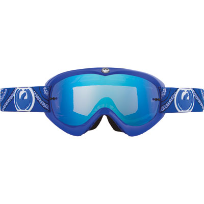 Dragon MDX Goggle  Paisley Blue Frame/Blue Steel Lens