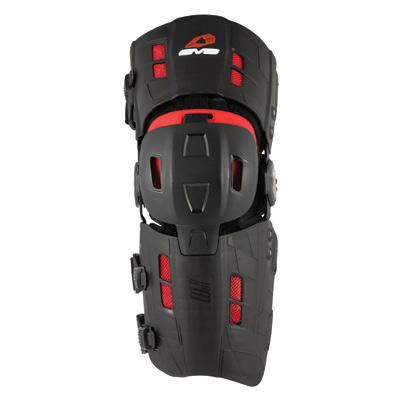 EVS RS8 Knee Brace Pair Large Black