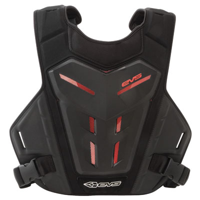 EVS Revolution 4 Under Jersey Roost Deflector Adult Black/Red