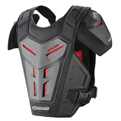 EVS Revolution 5 Under Jersey Roost Deflector Large/X-Large Black
