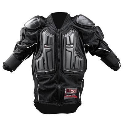 BJ33 Ballistic Jersey Body Armor without Kidney Belt Black