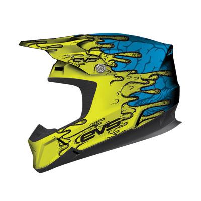 EVS T5 Ecto Helmet XX-Large Hi-Viz Yellow/Blue