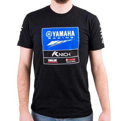 Factory Effex Yamaha Racing Team T-Shirt Medium Black