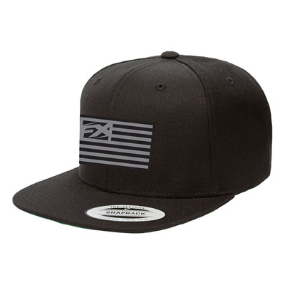 Factory Effex Flag Snapback Hat  Black