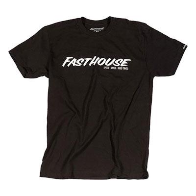 FastHouse Logo T-Shirt Small Black