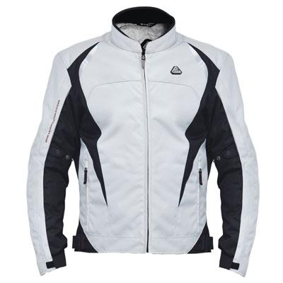 Fieldsheer Matrix Textile Jacket X-Large Silver/Black