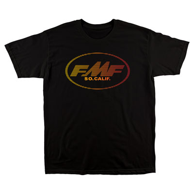 FMF Linear T-Shirt Small Black