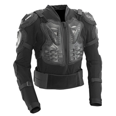 Fox Racing Titan Sport Jacket Body Armor X-Large Black