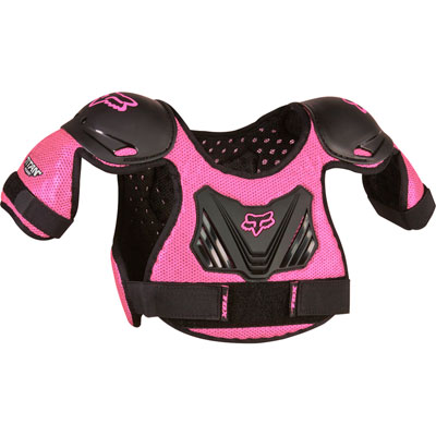 Fox Racing Pee Wee Titan Roost Deflector Medium/Large Black/Pink