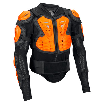 Fox Racing Titan Sport Jacket Body Armor XX-Large Black/Orange