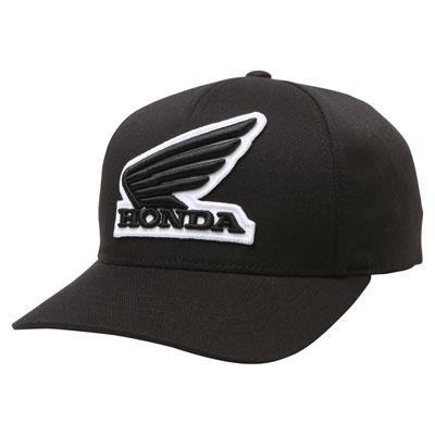 Fox Racing Honda Flex Fit Hat 2018 Small/Medium Black