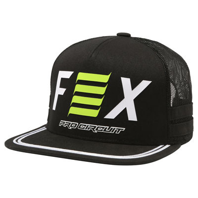 Fox Racing Pro Circuit Snapback Hat 2018  Black