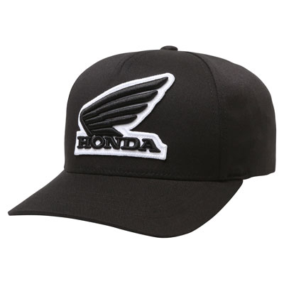 Fox Racing Youth Honda Flex Fit Hat  Black