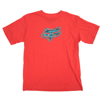 Fox Racing Youth Stalemate T-Shirt X-Large Blood Orange