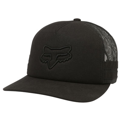 Fox Racing Women's Head Trik Snapback Trucker Hat  Black