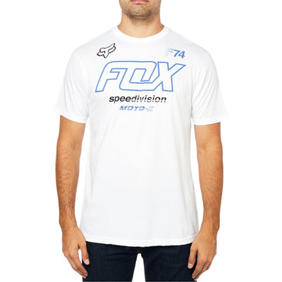 Fox Racing Assessing T-Shirt Medium Optic White