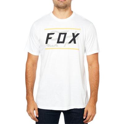 Fox Racing Determined T-Shirt Medium Optic White