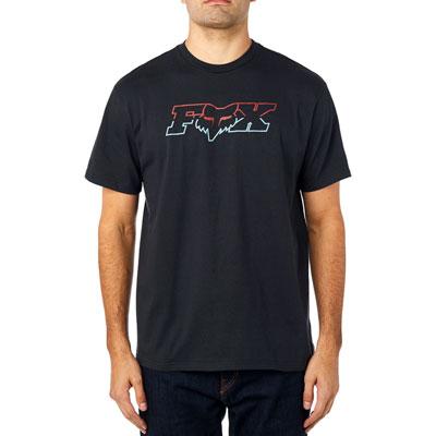 Fox Racing Duel Head T-Shirt Small Black