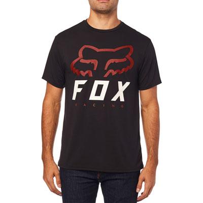 Fox Racing Heritage Forger Tech T-Shirt Medium Black