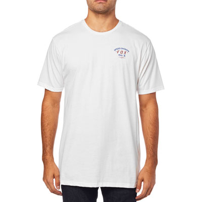 Fox Racing Seek and Destroy T-Shirt 2018 Small Optic White