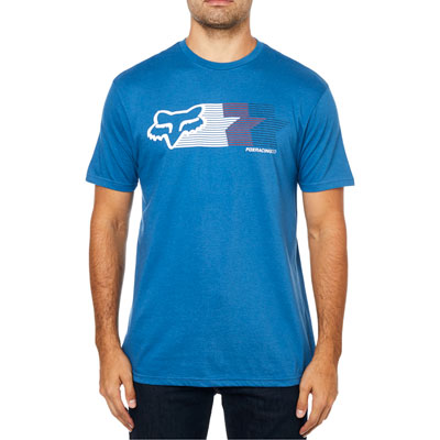 Fox Racing Starfade T-Shirt Medium Dusty Blue