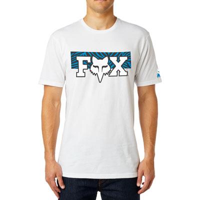 Fox Racing Vegas F Head X Premium T-Shirt Medium Optic White