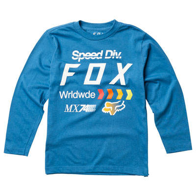 Fox Racing Youth MURC Long Sleeve T-Shirt X-Large Dusty Blue