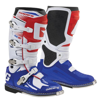 Gaerne SG-10 Boots Size 13 Red/White/Blue
