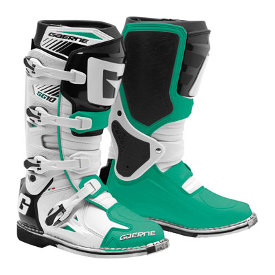 Gaerne SG-10 LE Boots Size 10 White/Green