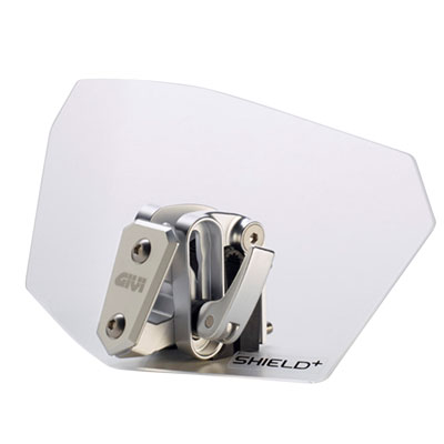 Givi Shield+ Universal Windshield Deflector  Clear
