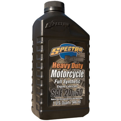 Golden Spectro Heavy Duty Platinum Engine Lubricant 20W-50 32 oz.