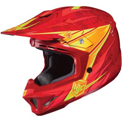 HJC CL-X7 Pop 'N Lock Helmet X-Small Red