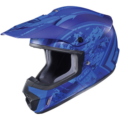 HJC CS-MX 2 Squad Helmet X-Large Matte Blue