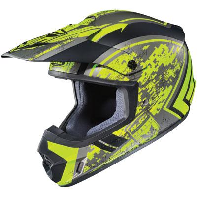 HJC CS-MX 2 Squad Helmet X-Small Matte Yellow