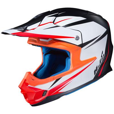 HJC FG-MX Axis Helmet X-Large Semi-Flat Black/Grey