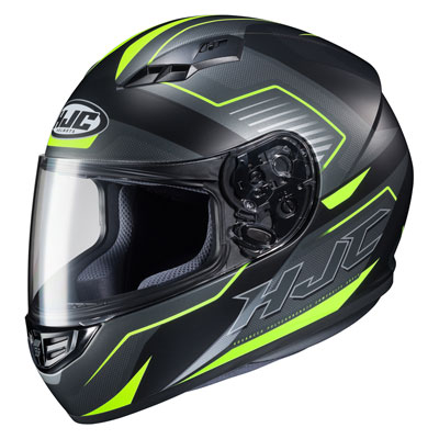 HJC CS-R3 Trion Helmet XX-Large Black/Yellow