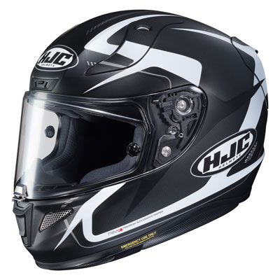 HJC RPHA-11 Pro Bludom Helmet Medium Black/White