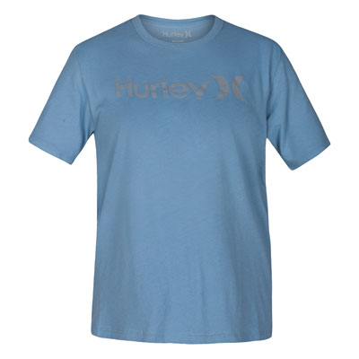 Hurley Women's One & Only Perfect T-Shirt Small Noise Aqua