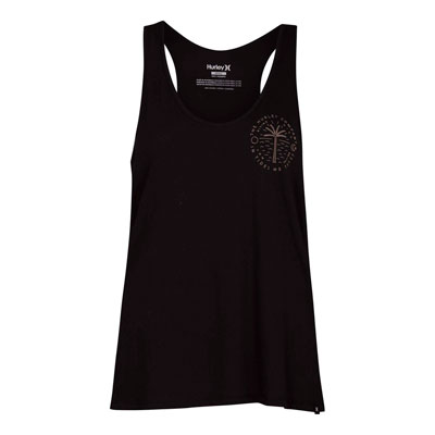 Hurley Women's Trust Perfect Tank Large Black