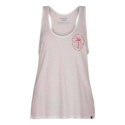Hurley Women's Trust Perfect Tank Small White