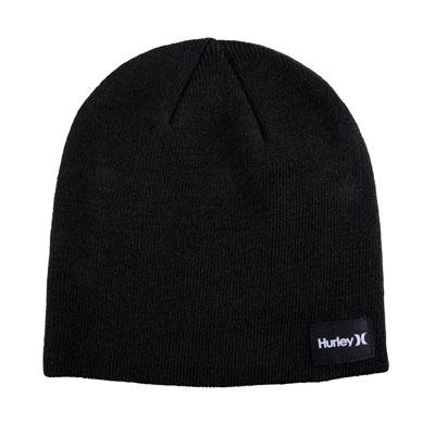 Hurley Iconic Beanie  Black